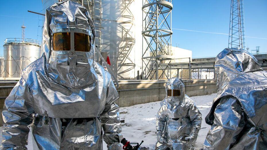 На Нововоронежской АЭС прошли пожарно-тактические учения