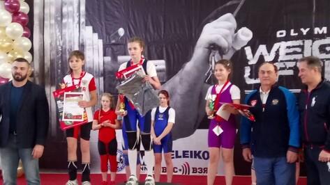 Воронежские юниоры завоевали 4 медали на всероссийском турнире по тяжелой атлетике