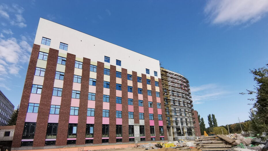 Строительство детского онкоцентра в Воронеже вышло на финишную прямую