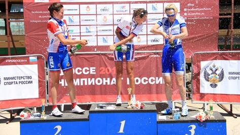 Воронежская спортсменка взяла «бронзу» на чемпионате России по велоспорту