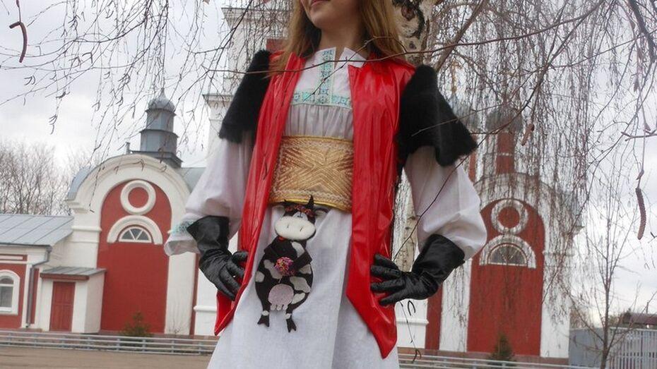 Юный дизайнер из Новохоперска победила в областном этапе всероссийского конкурса