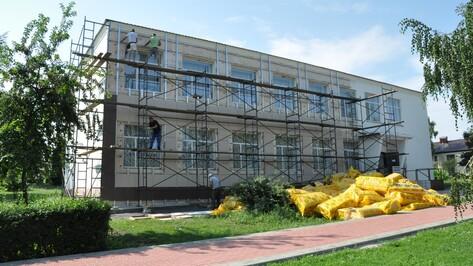 В Эртиле отремонтируют фасад районной библиотеки