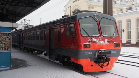 Из-за ремонта виадука в Воронеже поменялось расписание пригородных электричек