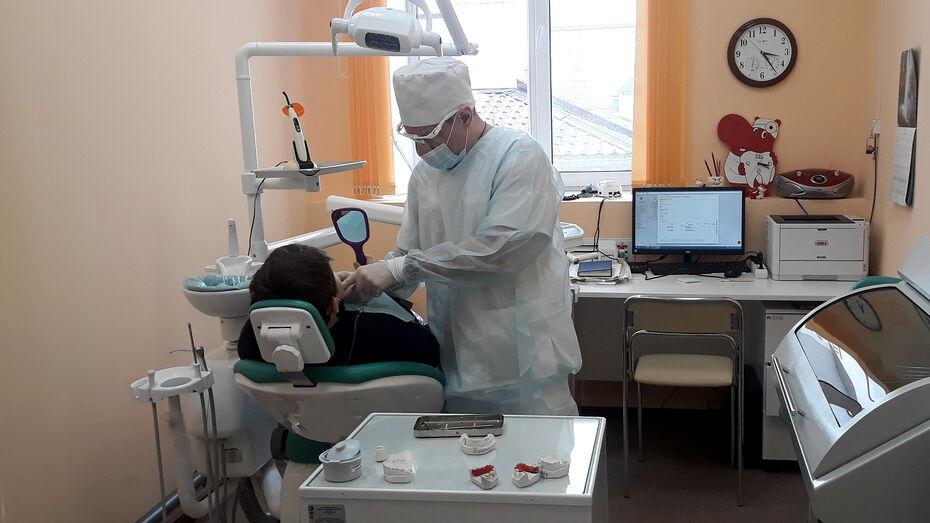 Новое детское отделение стоматологической поликлиники №3 в Воронеже приняло более 100 пациентов