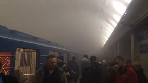 В Санкт-Петербурге в метро произошел взрыв