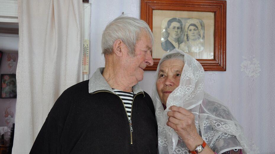 Супруги из Павловского района отметили бриллиантовую свадьбу