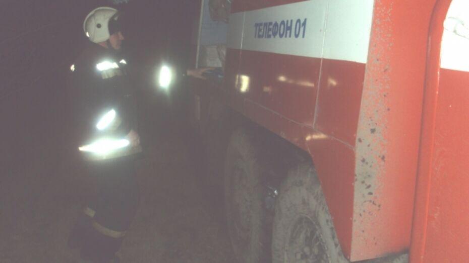 В Воронежской области сгорело 3 т сена