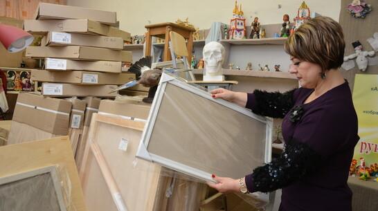 Острогожская художественная школа получила новое оборудование на 307 тыс рублей