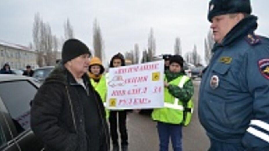 В Бутурлиновке прошла акция «Инвалид за рулем»