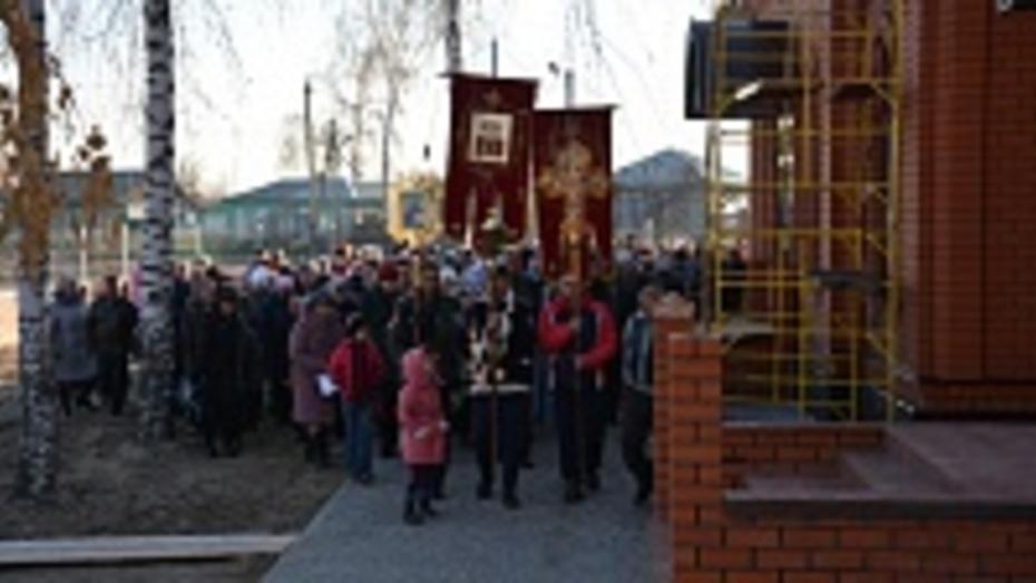В одном из сел Поворинского района открылся новый храм
