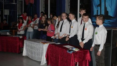 В Поворино прошли школьные игры КВН