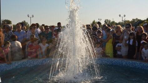 В День города в Богучаре состоялось открытие культурно-досуговой части набережной