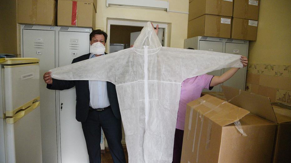 Воронежские медики поблагодарили предпринимателей-меценатов за помощь во время пандемии