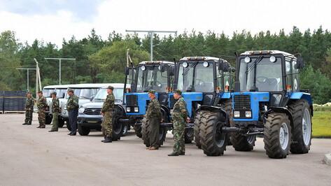 Воронежский лесхоз получит пожарные автомобили благодаря федеральным деньгам