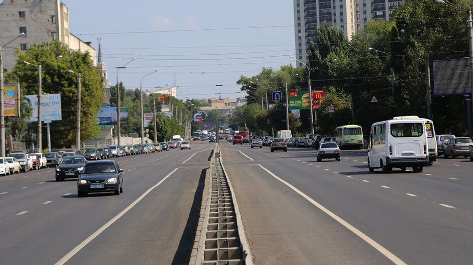 В Воронеже дорожный ремонт завершили на 55 улицах
