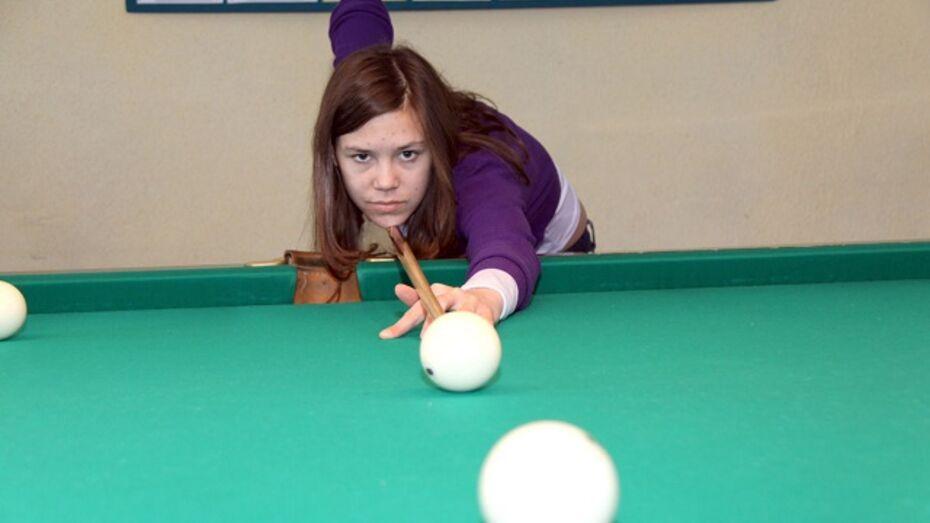 Жительница Аннинского района победила в лискинском турнире по бильярду