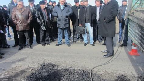 В Репьевском районе отремонтируют аварийные участки дорог