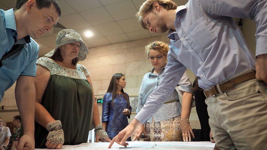 Проект развития квартала в 46 га представили на общественные обсуждения в Воронеже