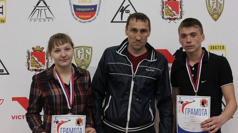 Новохоперские спортсмены заняли 2 призовых места  на Чемпионате первенства ЦФО по кикбоксингу