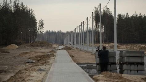 В «Экодеревне» Бобровского района достраивают инженерные сети