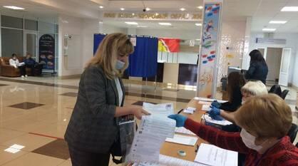 В Воронежской области проголосовали 45,54% избирателей