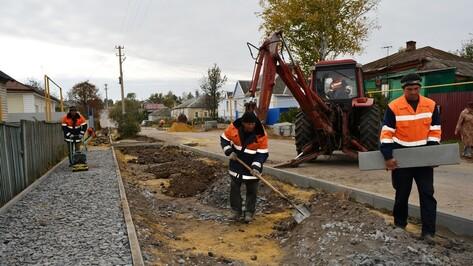 В Нижнедевицке отремонтируют одну из главных улиц