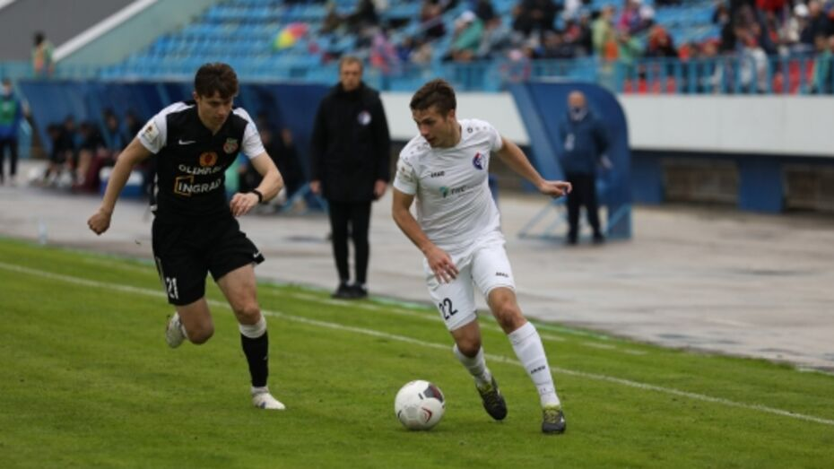 Воронежский «Факел» сыграл вничью с московским «Торпедо»