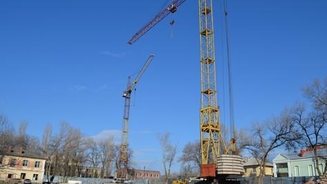 В Семилуках началось строительство дома для жильцов девяти аварийных многоэтажек