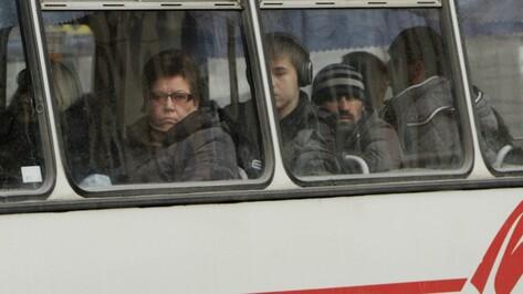 В Воронеже отменят два автобусных маршрута