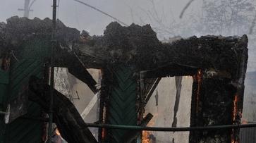 Два человека погибли при пожаре на улице Шишкова в Воронеже