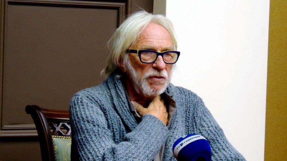 Пьер Ришар в Воронеже: «За 20 лет я так и не понял загадочной русской души»