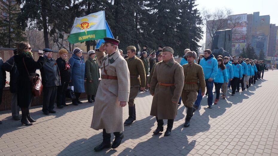 Воронежцы передали капсулу с черноземом в Чувашию