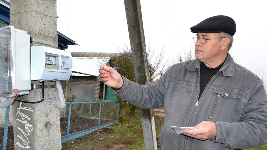 В калачеевском селе Новая Криуша установили 319 светодиодных уличных светильников
