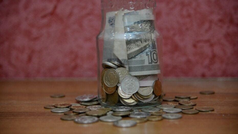 В Воронежской области средняя зарплата выросла до 26 тыс рублей