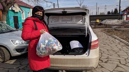 В Таловском районе собрали 12,5 кг крышек на переработку