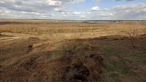 Под Воронежем подтвердился факт незаконных земляных работ возле объекта культурного наследия