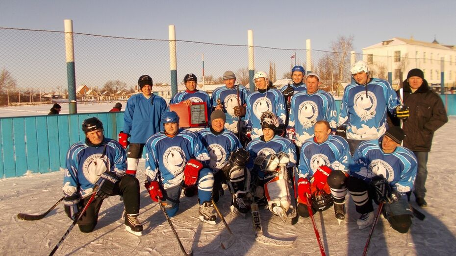 Кантемировские хоккеисты выиграли турнир в Ростовской области