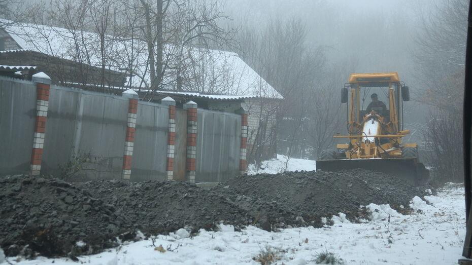 В Каменке на отсыпку щебнем 26 улиц потратили около 12,5 млн рублей