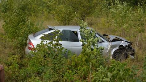 В Острогожском районе пьяный водитель «ВАЗа» столкнулся с «Приорой»