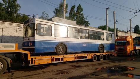В Воронеж приехала вторая партия троллейбусов из Москвы