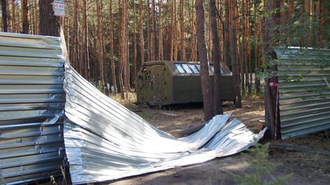 От конфликта в Северном лесу открестился воронежский застройщик