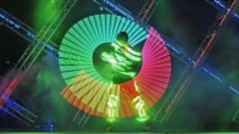На ежегодный фестиваль светодиодного шоу в Воронеж съехались лучшие артисты ЦФО