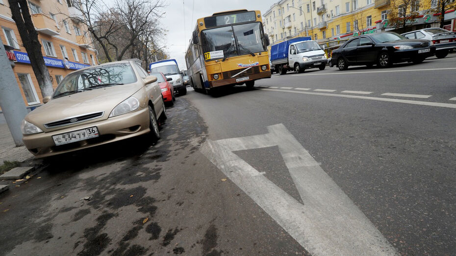Воронежский депутат предложил выделить для маршруток отдельную полосу