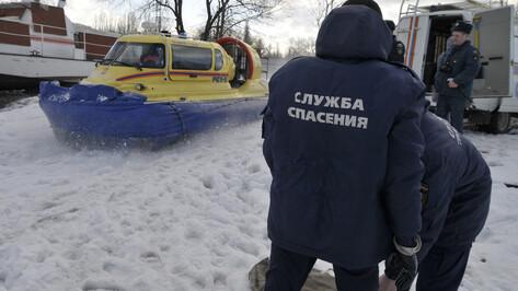 Рыбак провалился под лед Воронежского водохранилища