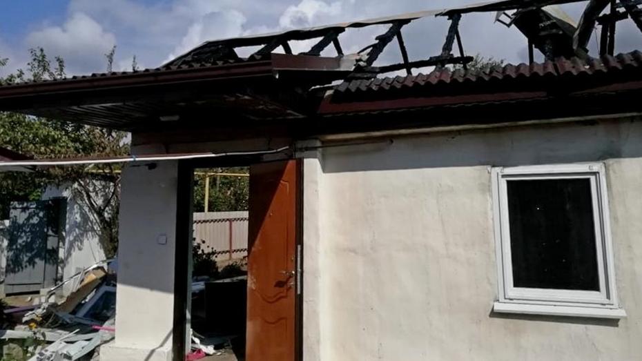 В Воронежской области при взрыве газа пострадали молодые супруги
