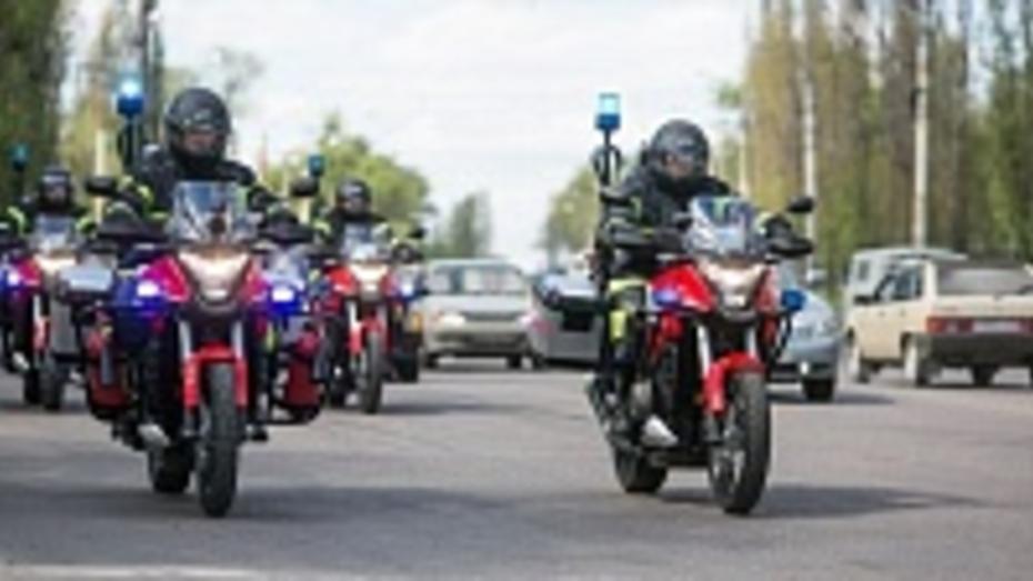 В Воронеже мотоциклисты экстренного реагирования спасли 24 человека