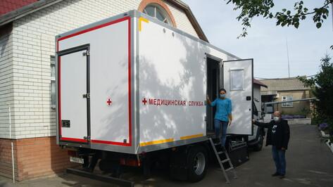 Воробьевская больница получила мобильный комплекс для обслуживания пациентов маленьких сел