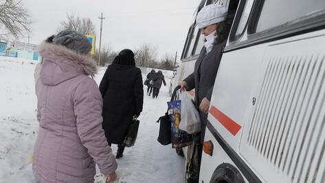 На воронежском маршруте №113 автобусы начнут заезжать к поликлинике