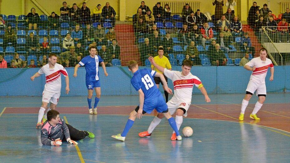 Грибановская футбольная команда привезла «серебро» с областного турнира