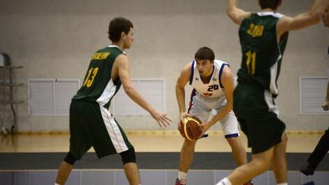 Воронежские баскетболисты проиграли в Майкопе